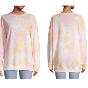 Wildfox Cotton Candy Wish Tie Dye Sweatshirt